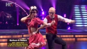 Barbara Radulović i Robert Schubert u trećoj emisiji Plesa sa zvijezdama