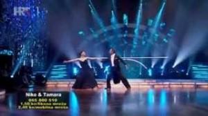 Niko Pulić i Tamara Despot u četvrtoj emisiji Plesa sa zvijezdma