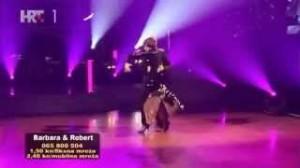 Barbara Radulović i Robert Schubert u osmoj emisiji Plesa sa zvijezdama paso doble