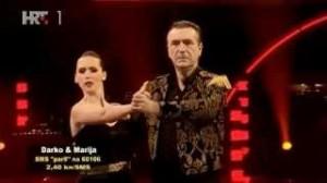 Darko Janeš i Marija Stošić u šestoj emisiji Plesa sa zvijezdama