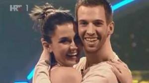Mirna Medaković i Damir Horvatinčić u osmoj emisiji Plesa sa zvijezdama freestyle