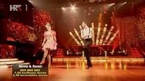 Mirna Medaković i Damir Horvatinčić u osmoj emisiji Plesa sa zvijezdama jive