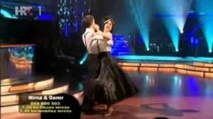 Mirna Medaković i Damir Horvatinčić u petoj emisiji Plesa sa zvijezdama