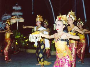 Ples na Baliju