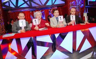 Elio Bašan, Milka Babović, Dinko Bogdanić i Davor Bilman u Plesu sa zvijezdama
