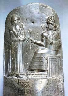 Babilonski kralj Hamurabi