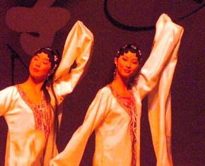 Ples dugih rukava stara Kina