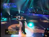 Lana Banely i Damir Horvatinčić u finalnoj emisiji Plesa sa zvijezdama 2011 - engleski valcer