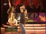 Lana Banely i Damir Horvatinčić u finalnoj emisiji Plesa sa zvijezdama 2011 - freestyle