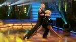 Saša Lozar i Marija Šantek u šestoj emisiji Plesa sa zvijezdama cha cha cha