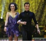 Danijela i Nicolas u prvoj emisiji Plesa sa zvijezdama 2008 cha cha cha.